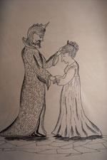 Сказка о первом законе молодой королевы