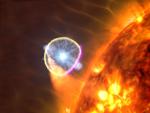 """Космический гамма-телескоп НАСА """"Ферми"""" обнаруживает новый источник гамма-излучения"""