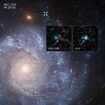 """Космический телескоп НАСА """"Хаббл"""" обнаруживает систему сверхновой звезды, связанную с потенциальной """"звездой – зомби"""""""