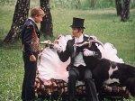 """Как в """"Гостье из будущего"""" говорящего козла Наполеона снимали"""