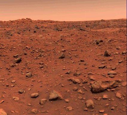 Какого цвета Марс?