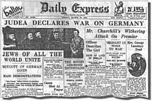 «Германию надо уничтожить — если от неё нет пользы евреям»