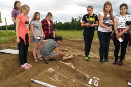 Археологические раскопки под Армавиром