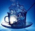 Чай в стакане может моделировать поверхность Солнца?