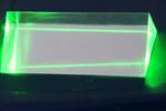 Какого цвета луч зелёного лазера?